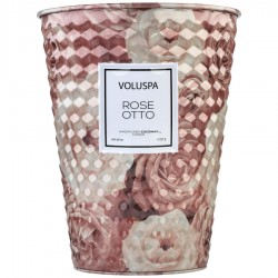 """Voluspa"" 2 Wick Tin Table Candle - Rose Otto - Style #5331"