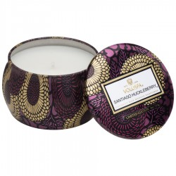 """Voluspa"" Petite Decorative Tin Candle - Santiago Huckleberry - Style #7212"
