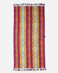 PENDLETON Spa Towel With Fringe - Pagosa Springs in Fuschia #72686