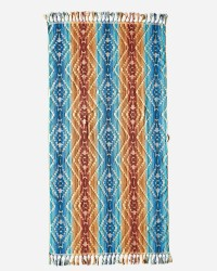 PENDLETON Spa Towel With Fringe - Pagosa Springs in Marine #72686