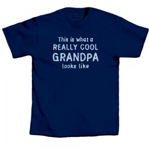 Father's Day Tee - Really Cool Grandpa