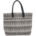 Canvas Carryall Tote - Shani Black