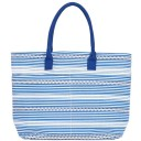 Canvas Carryall Tote - Bethany Blue