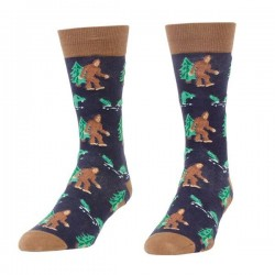 Headline Mens Bigfoot & Nessie Socks Style #0056S