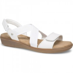 Grasshoppers Leah 2 Strap Sandal Style #EH60401 - White