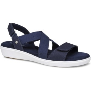 Grasshoppers Leah 2 Strap Sandal Style #EF59899 - Navy