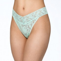 Hanky Panky Signature Lace Original Rise Thong Style #4811 - Pistachio Ice
