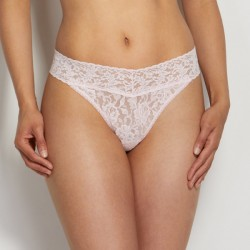Hanky Panky Signature Lace Original Rise Thong Style #4811 - Bliss Pink