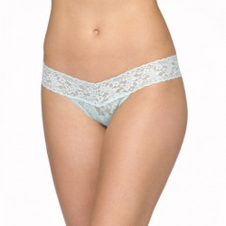 Hanky Panky Signature Lace Low Rise Thong Style #4911 - Pistachio Ice