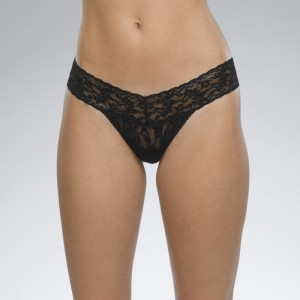 Hanky Panky Signature Lace Low Rise Thong Style #4911 - Black