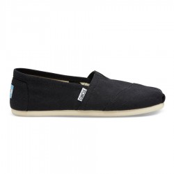 Toms Canvas Classic Style #001001B07 - Black