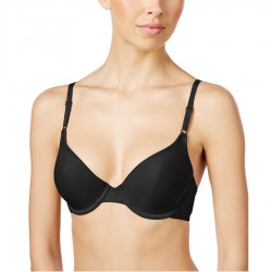 Maidenform One Fab Fit Original Tailored Demi T-shirt Bra #7959 - Black