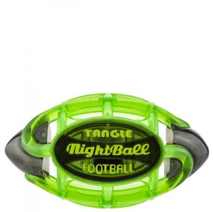 Tangle LED Football - Large Green