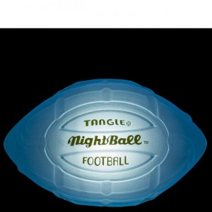 Tangle LED Football - Large Blue