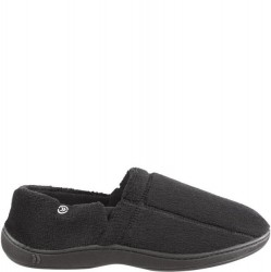 Isotoner Microterry Slippers - Black