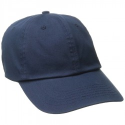 DPC Solid Soft Twill Cap Style #BC166 - Navy