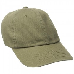 DPC Solid Soft Twill Cap Style #BC166 - Olive