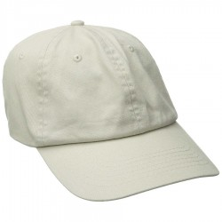 DPC Solid Soft Twill Cap Style #BC166 - Putty