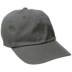 DPC Solid Soft Twill Cap Style #BC166 - Charcoal