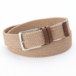 Mens Dockers Stretch Web Belt - Khaki