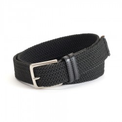 Mens Dockers Stretch Web Belt - Black