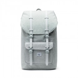 Herschel Little America Backpack Style #10014 - Light Grey/Rubber