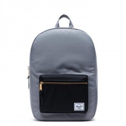 Herschel Settlement Backpack Style #10033 - Grey/Black