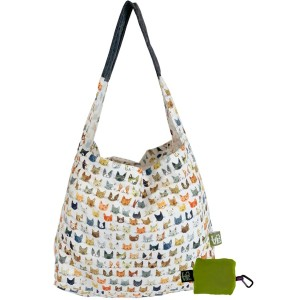 Love Bags Stash It Shopping Tote - Slick Kitty