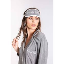 PJ Salvage Modal PJ Set with Sleeping Mask  - Heather Grey
