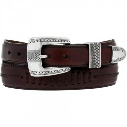 Mens Brighton Salinas Belt - Brown
