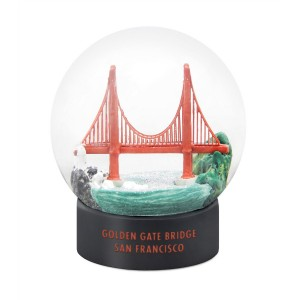 Golden Gate Bridge Fog Globe