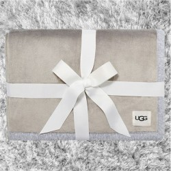 Ugg Duffield Throw - Seal Heather