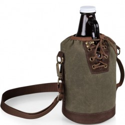 64 oz. Growler Tote – Khaki Green
