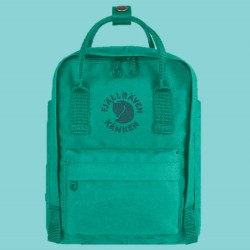 Fjallraven's Special Edition Mini Backpack Made of Recycled Bottles - Emerald
