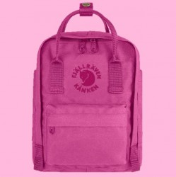 Fjallraven's Special Edition Mini Backpack Made of Recycled Bottles - Pink