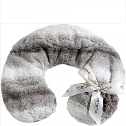 """Sonoma Lavender"" Angora Platinum Neck Pillow"