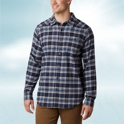 Columbia Flannel Shirt - Navy/Blue