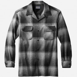 Pendleton Board Shirt - Charcoal Ombre