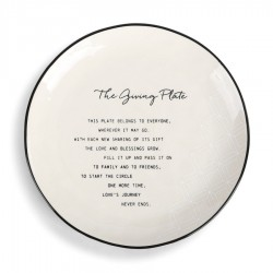 """Demdaco """"The Giving Plate"""""""