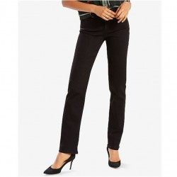 Levi's Straight Leg Jean - Soft Black