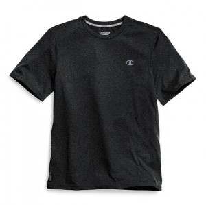 Champion Double Dry T-shirt - Black Heather
