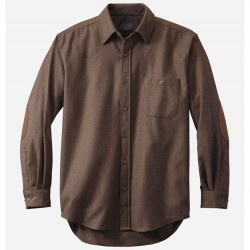 Pendleton Trail Shirt with Elbow Patch - Brown Mix