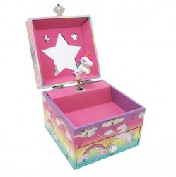 Music Box - Small Cotton Candy Unicorn