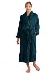 Casual Moments Plush Robe - Teal