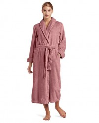 Casual Moments Plush Robe - Dusty Rose