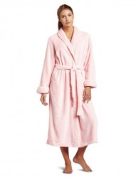 Casual Moments Plush Robe - Pink