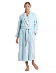 Casual Moments Plush Robe - Sky Blue