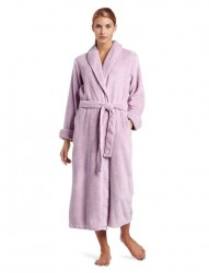 Casual Moments Plush Robe - Lavender