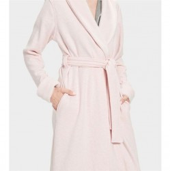 Ugg Double Knit Fleece Robe - Seashell Pink Heather