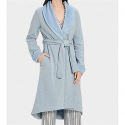 Ugg Double Knit Fleece Robe - Fresh Air Heather